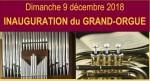 affiche inauguration orgue