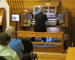 Hector Olivera performs at BAUER-MUSIC 2018 Organ Days on Rodgers 361+Consoli MillenniuM 2001