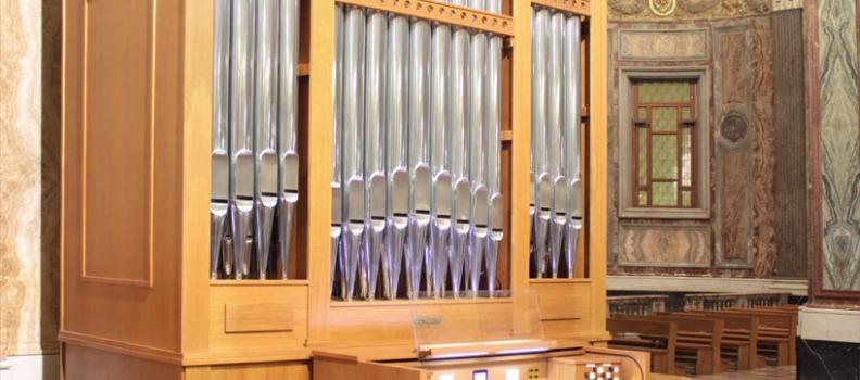 Nuovo Organo a Canne nel Pontificio Santuario della Beata Vergine del Rosario di Pompei