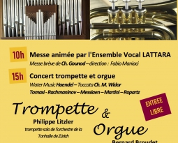 INAUGURATION du GRAND-ORGUE Consoli MillenniuM 2001